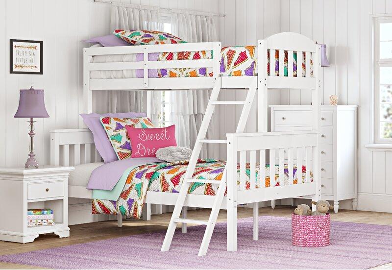 Lot de 2 wide white blanc couloir nursery enfants chambre à coucher table de chevet armoire
