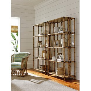 Twin Palms Seven Seas Etagere Bookcase