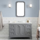Kylan 48 Single Bathroom Vanity Set with Mirror by Alcott Hill