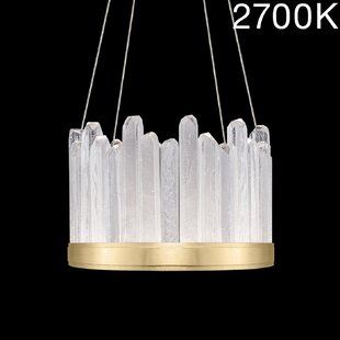 Fine Art Lamps Lior Rock 12-Light Drum Chandelier