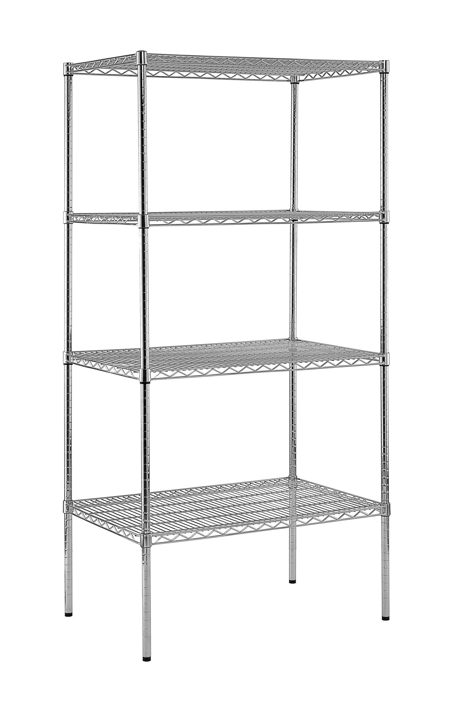sandusky heavy duty shelf wire shelving unit reviews wayfair - Heavy Duty Bookshelves