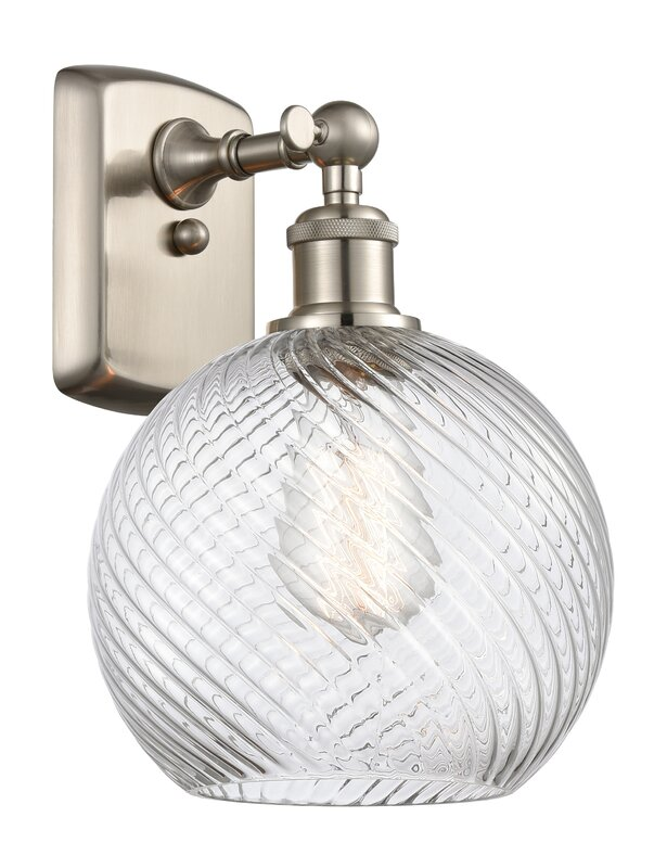 Highland Dunes Fauntleroy 1 - Light Dimmable Armed Sconce