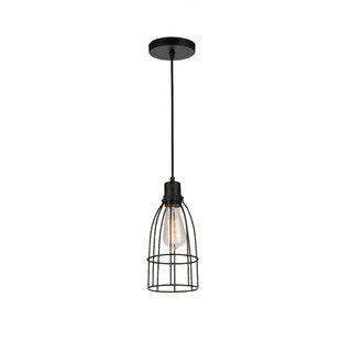 CWI Lighting Nestor 1-Light Lantern Pendant