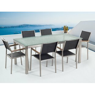 Maxton 6 Seater Dining Set By Ebern Designs