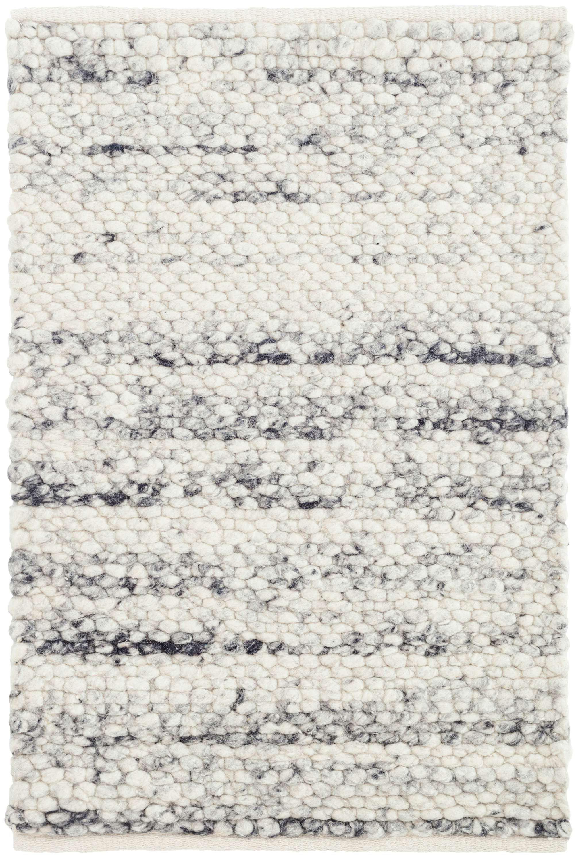 Dash And Albert Rugs Cobblestone Hand Looped Gray White Area Rug