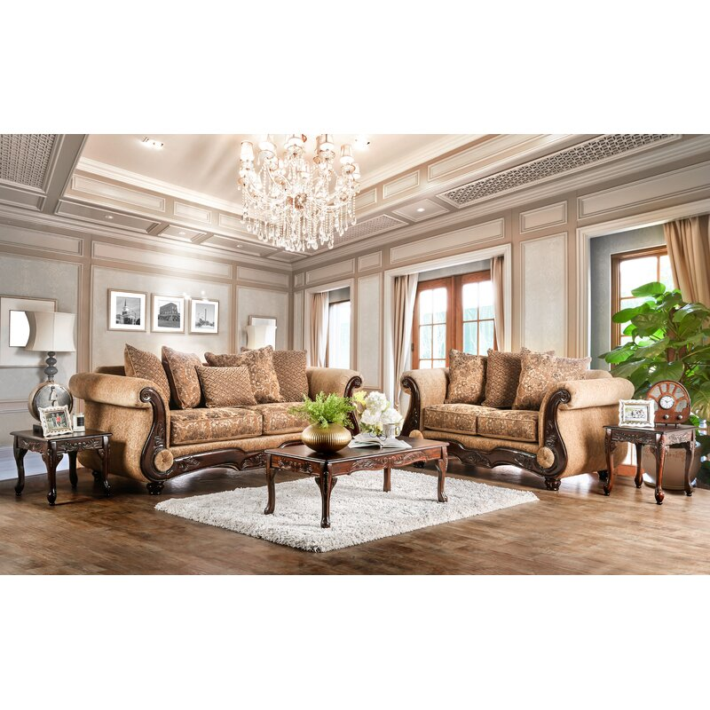 Destanee Rolled Arm Sofa with Reversible Cushions