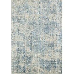 Caddie Blue Area Rug by Ophelia & Co.