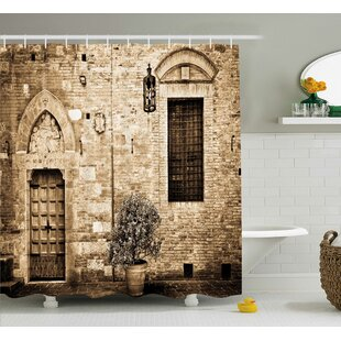 Tuscany Decor Single Shower Curtain