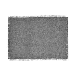 Market Fringe Gray Indoor/Outdoor Area Rug