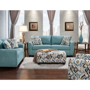 Mistana Thompson 4 Piece Living Room Set