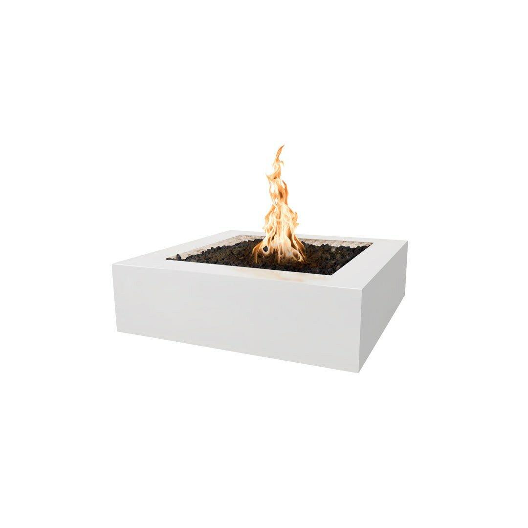 The Outdoor Plus Quad Concrete Propane Natural Gas Fire Pit Reviews Perigold