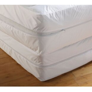 Linen Depot Direct Anti Bed Bug Wrapper Hypoallergenic Waterproof Mattress..