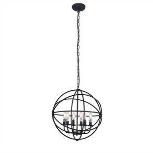 Fairford 6-Light Globe Chandelier by Williston Forge