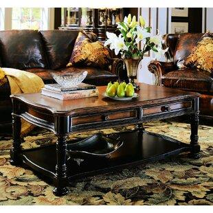 Hooker Furniture Preston Ridge Coffee Table with Storage