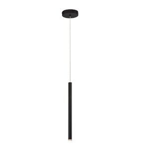 Orren Ellis Suber Sleek 1-Light LED Cylinder Pendant