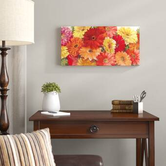 Click Wall Art Scarlet Scenario Painting Print On Wrapped Canvas Wayfair