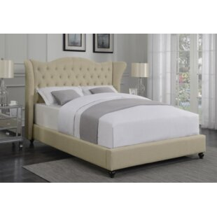 Damaris Upholstered Panel Bed by Darby Home Co