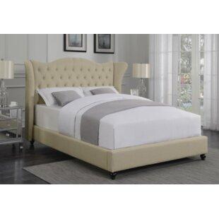 Damaris Upholstered Panel Bed ..