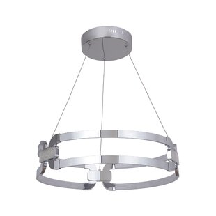 Orren Ellis Jessa 1-Light LED Pendant