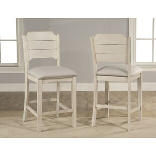 Kinsey Bar Stool (Set of 2) Rosecliff Heights