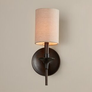 Price comparison Foland 1-Light Wall Sconce By Alcott Hill