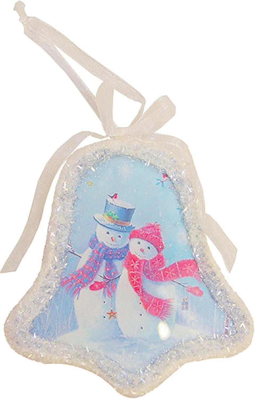 Christmas Tree Snowman Snowflake Star Bell Chain Hanging Christmas Ornaments