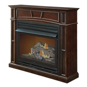 Full-Size Vent-Free Dual Fuel Gas Fireplace by Pleasant Hearth