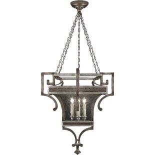 Price Check Villa Vista 6-Light Outdoor Hanging Lantern By Fine Art Lamps