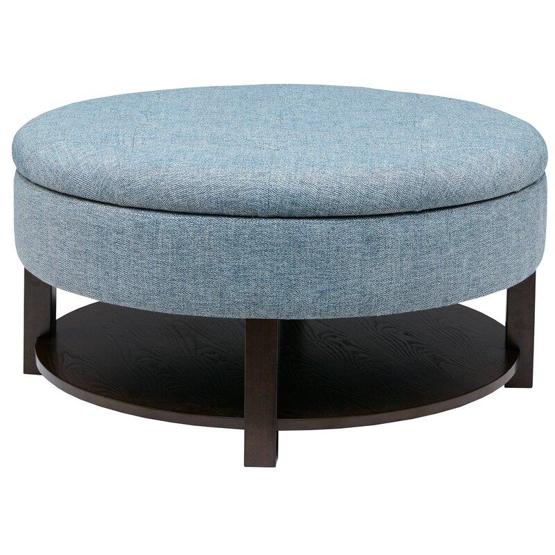 Brilliant Parksley Storage Ottoman Machost Co Dining Chair Design Ideas Machostcouk
