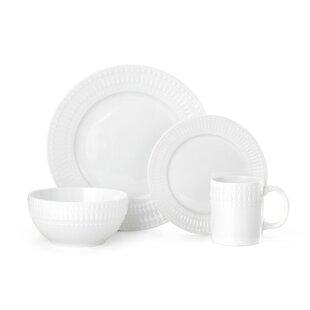 Cassandra 16 Piece Dinnerware Set, Service for 4