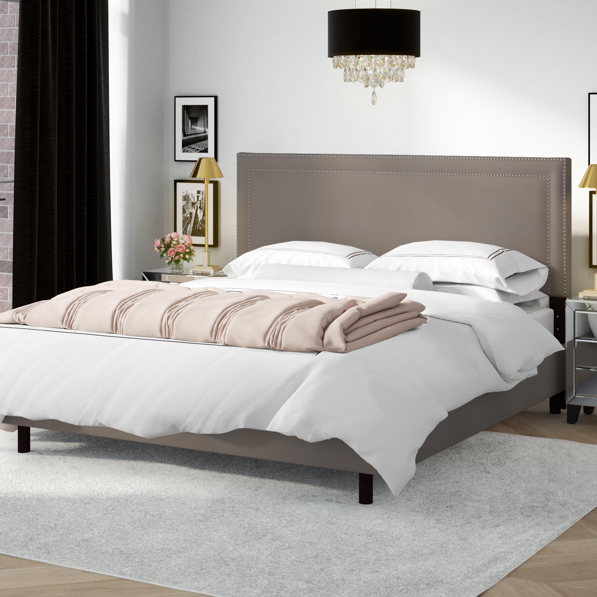 Willa Arlo Interiors Alsafi Upholstered Low Profile Standard Bed Wayfair