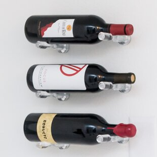 Vino Pin 1 Bottle Wall Mounted Wine Bottl..