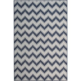 Great choice Hephzibah Navy/White/Gray Indoor/Outdoor Area Rug By Ebern Designs
