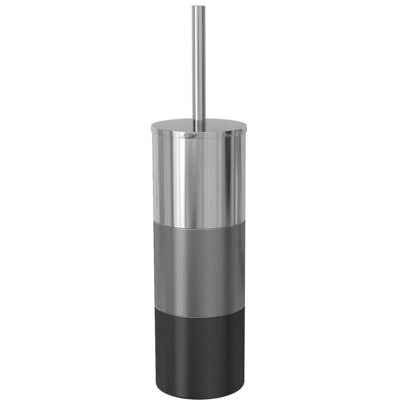 Nu Steel 16in H Free Standing Toilet Brush And Holder Reviews Wayfair