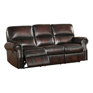 Amax Nevada Reclining 2 Piece Leather Living Room Set