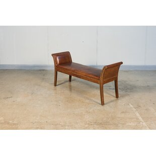 Worthington Leather Bench