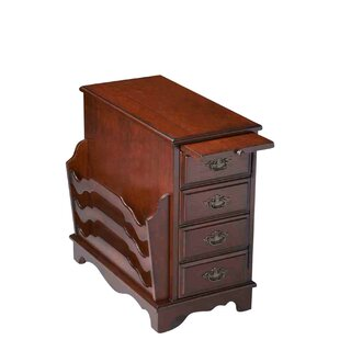 Looking for Larocca Cherry End Table By Darby Home Co
