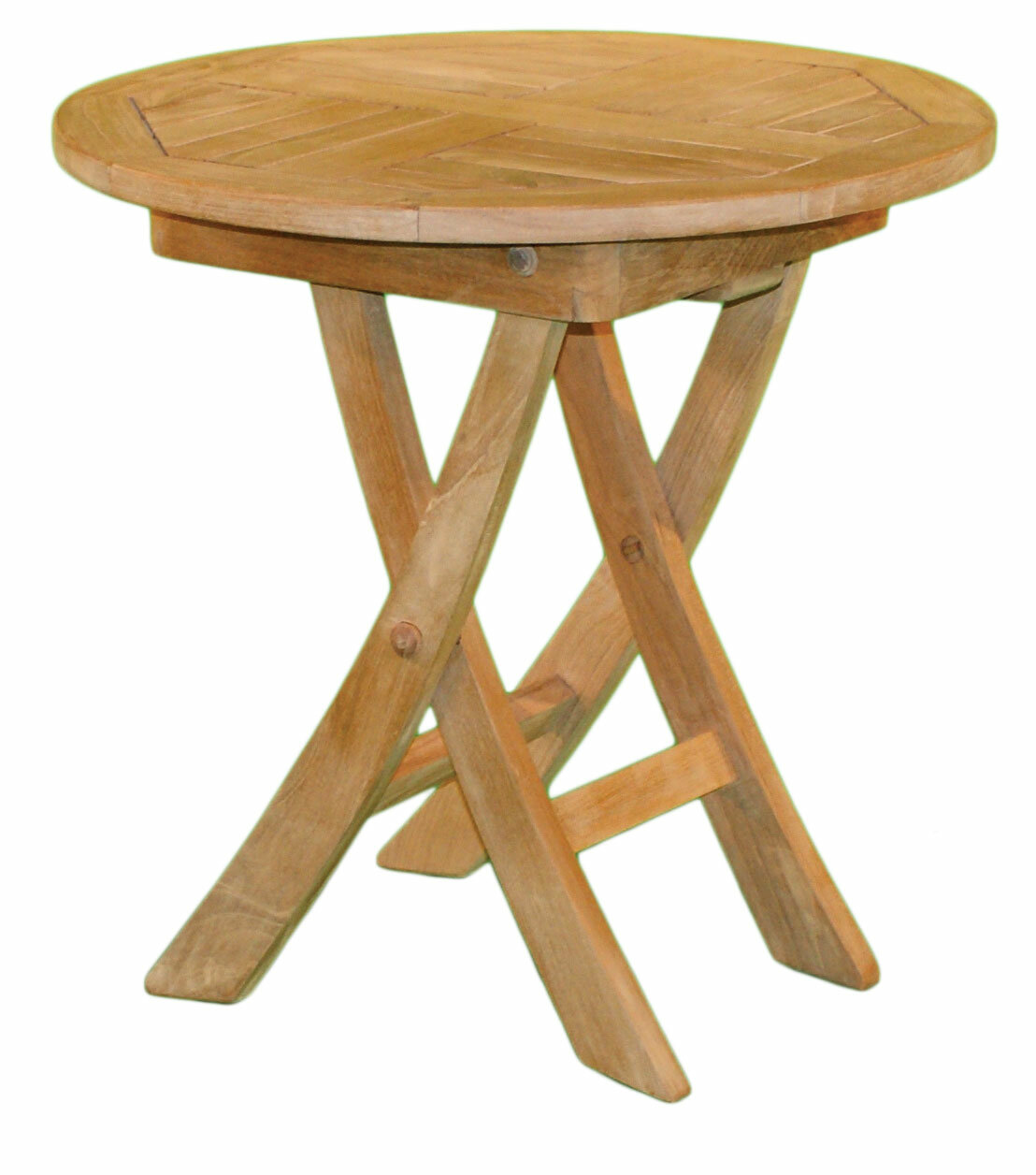 Jewels Of Java Round Folding Side Table Wayfair