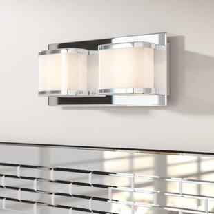 Top Kirsten 2-Light LED Bath Bar By Orren Ellis