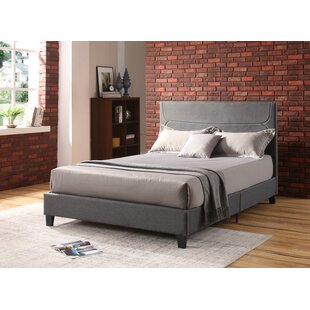 Gipe Upholstered Platform Bed by Williston Forge