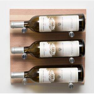12 Bottle Metal Wall Mounted Wine Rack by VintageView