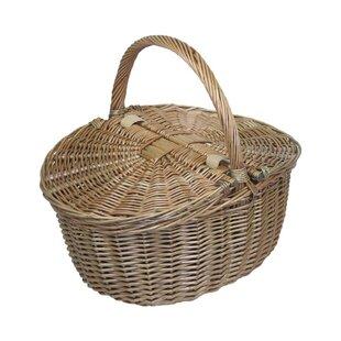 Oval Picnic Basket By Brambly Cottage