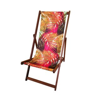 Creasy Reclining/Folding Deck Chair By Bay Isle Home