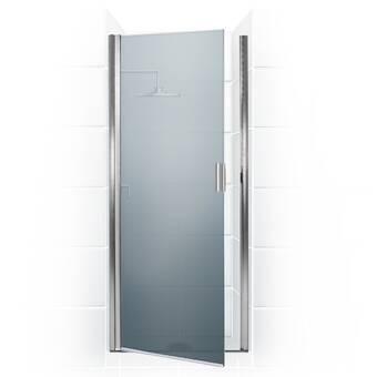 Coastal Industries Paragon Series 22 X 69 Hinged Framed Shower Door Wayfair