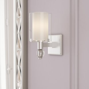 Best Reviews Susan 1-Light Wall Sconce By House of Hampton