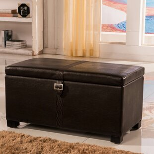 Royal Comfort Upholstered Storage Bench by Bellasario Collection Coupon