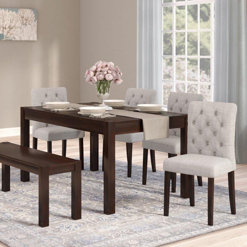 Beau Gardners 6 Piece Dining Set