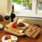 Hansford 5 Piece Cheese Tray Set