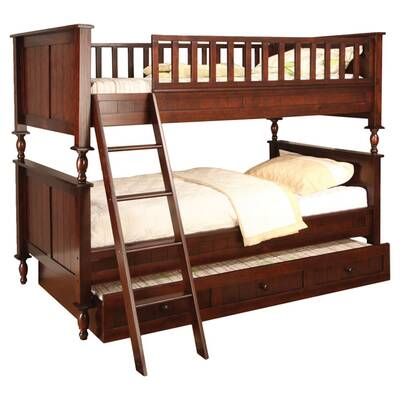 Milton Twin Over Full Futon Bunk Bed Reviews Joss Main