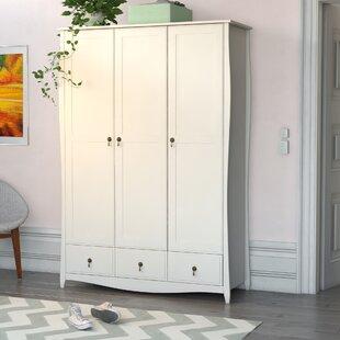 3 Door Wardrobe By August Grove